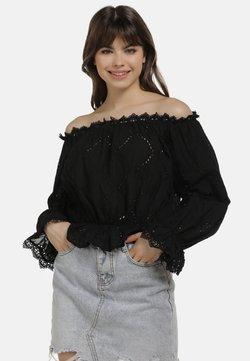 myMo - LUSE - Bluse - black