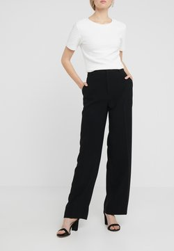 Filippa K - HUTTON TROUSERS - Pantalon classique - black