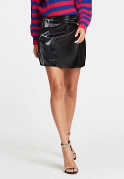 Guess - Jupe portefeuille - black
