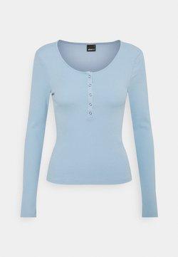 Gina Tricot - CELIE - Pitkähihainen paita - blue bell