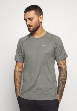 Black Diamond - RHYTHM TEE - T-Shirt print - nickel