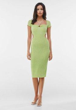 Bershka - MIT RING UND CUT-OUTS - Cocktailkleid/festliches Kleid - green