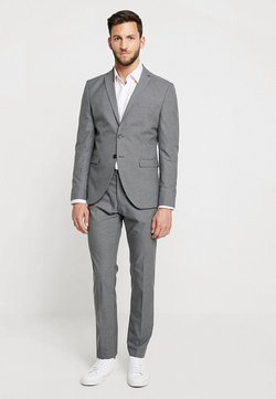 Selected Homme - SHDNEWONE MYLOLOGAN SLIM FIT - Costume - medium grey melange