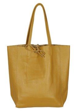 Zwillingsherz - ANITA - Shopping Bag - gelb