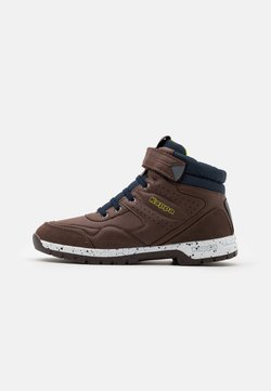 Kappa - LITHIUM UNISEX - Outdoorschoenen - brown/navy