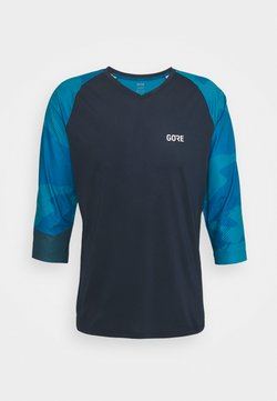 Gore Wear - TRAIL - T-Shirt print - orbit blue/sphere blue