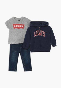 Levi's® - COLLEGIATESET - Hoodie met rits - dark blue