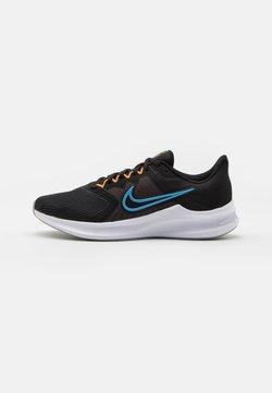 Nike Performance - DOWNSHIFTER 11 - Laufschuh Neutral - black/coast/total orange/dark smoke grey/white/light smoke grey