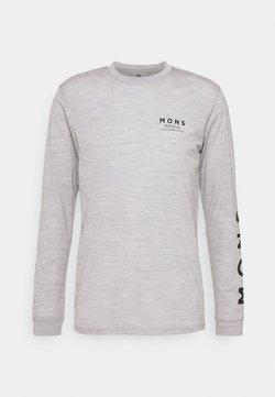 Mons Royale - ICON - Langarmshirt - grey marl