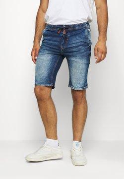 Blend - Jeans Shorts - denim middle blue