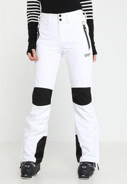 Superdry - SLEEK PISTE SKI PANT - Skibroek - white