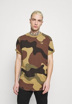 G-Star - LASH - T-Shirt basic - wood
