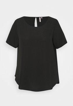 ONLY Carmakoma - CARLUXINA SOLID - T-Shirt basic - black
