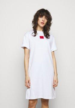 HUGO - NEYLETE REDLABEL - Vestido ligero - white