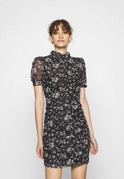 NIKKIE - DUSTY FLOWER DRESS - Sukienka letnia - black