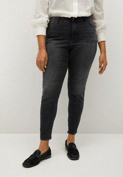 Violeta by Mango - IRENE - Slim fit jeans - black denim