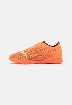 Puma - ULTRA 4.1 IT JR UNISEX - Fußballschuh Halle - shocking orange/black