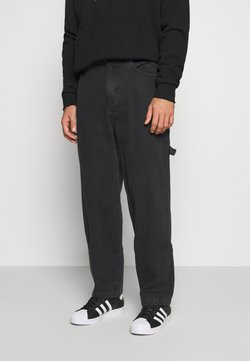 Karl Kani - PANTS - Straight leg -farkut - washed black