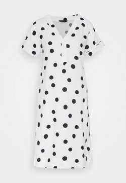 Marks & Spencer London - SPOT SHIFT - Robe d'été - off-white