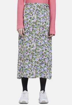 TOM TAILOR - SKIRT - Jupe portefeuille - multi-coloured