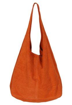 Zwillingsherz - Shopping Bag - orange
