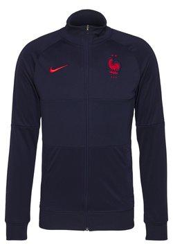 Nike Performance - FRANKREICH FFF - Landslagströjor - blackened blue/university red