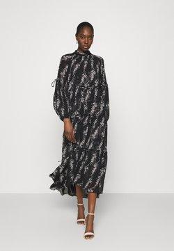AllSaints - EIMEAR CULTIVAR DRESS - Vestido largo - black