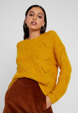 ONLY - ONLHAVANA - Strickpullover - golden yellow