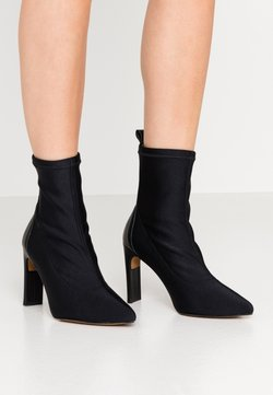LAB - High Heel Stiefelette - black