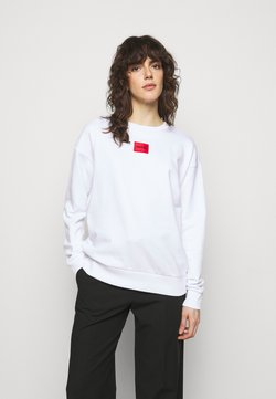 HUGO - NAKIRA - Sweatshirt - white