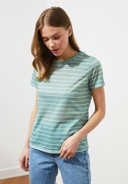 Trendyol - T-Shirt print - turquoise