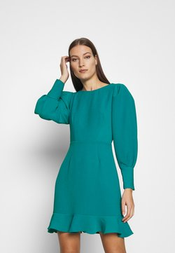 Closet - PEP HEM PENCIL DRESS - Vestido de tubo - blue