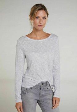 Oui - Sweatshirt - light grey white