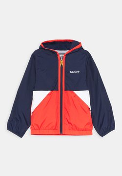 Timberland - HOODED WINDBREAKER - Veste mi-saison - orange