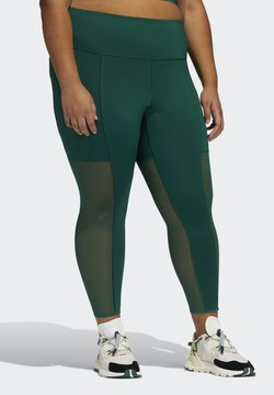adidas Originals - Ivy Park Mesh 3 Stripe  - Legging - darkgreen