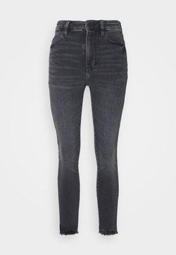 American Eagle - SUPER HI-RISE - Jeans Slim Fit - blue black