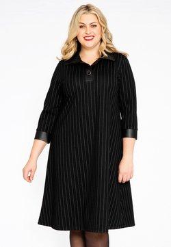 Yoek - LONG SLEEVE - Korte jurk - black