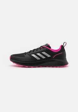 adidas Performance - RUNFALCON 2.0 TR - Zapatillas de trail running - core black/silver metallic/screaming pink