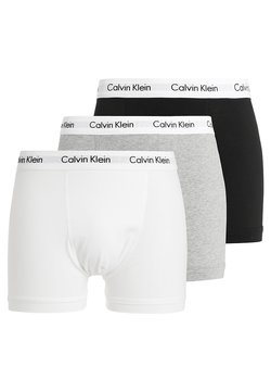 Calvin Klein Underwear - TRUNK 3 PACK - Underbukse - black/white/grey