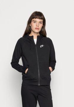 Nike Sportswear - HOODIE - veste en sweat zippée - black/white