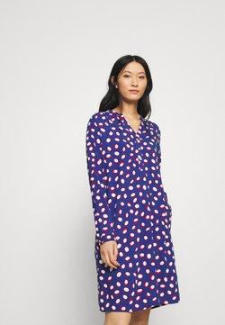Emily van den Bergh - Day dress - blue/white
