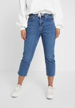 Topshop Petite - Straight leg jeans - blue denim