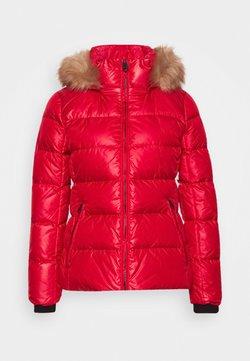 Calvin Klein - ESSENTIAL JACKET - Daunenjacke - tango red