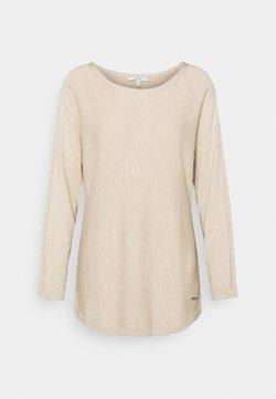 Esprit - BOATNECK - Pullover - sand