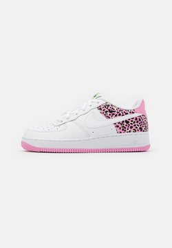 Nike Sportswear - AIR FORCE 1 '07 - Sneaker low - white/pink rise/barely volt/black
