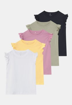 Name it - NMFSEDONNA 5 PACK - T-shirt print - sunlight