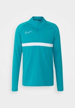 Nike Performance - ACADEMY DRIL - Funktionsshirt - aquamarine/white