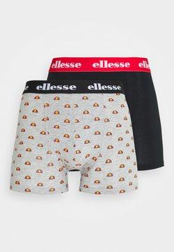 Ellesse - BOXERS 2 PACK - Shorty - grey/black