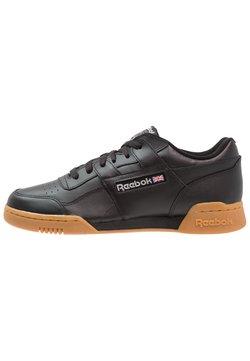 Reebok Classic - WORKOUT PLUS - Sneaker low - black/carbon/red/royal