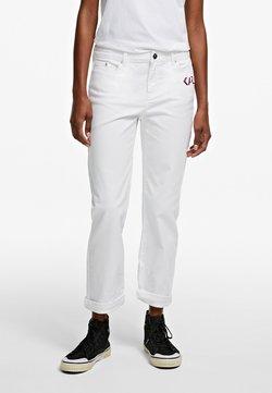 KARL LAGERFELD - Jeans Straight Leg - white denim